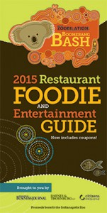 2015 Indianapolis Zoobilation Restaurant & Foodie Guide