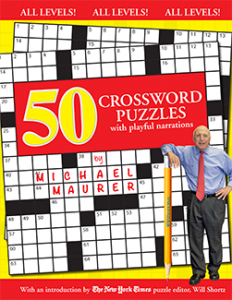 50 Crossword Puzzles with Playful Narrations