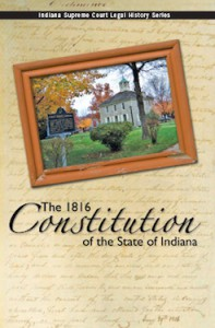 The 1816 Constitution of the State of Indiana