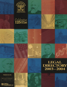 Indianapolis Bar Association Legal Directory 2003-2004