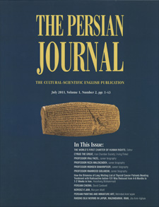 The Persian Journal: The Cultural-Scientific English Publication
