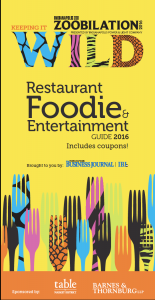 The 2016 Indianapolis Zoobilation Restaurant & Foodie Guide